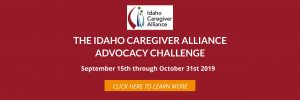 Advocacy Challenge Banner with link