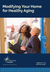 Image of cover of Modifing Your Home for Healthy Aging