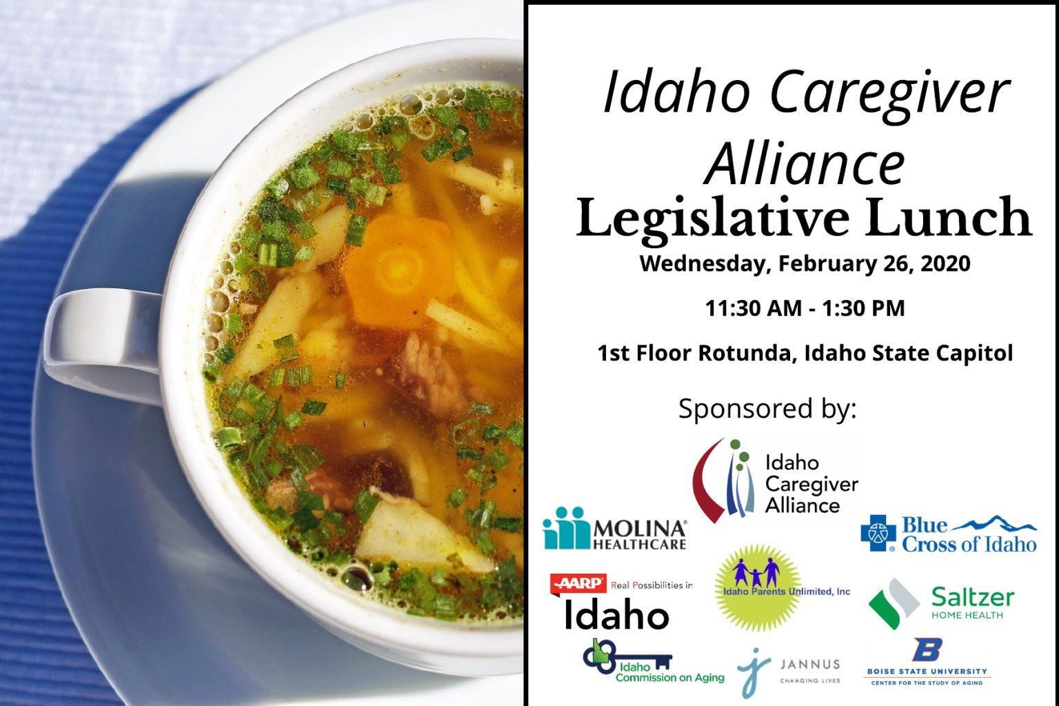2020 Legislative Lunch Intvite