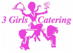 3 Girls Catering Logo.