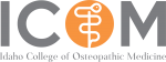 Idaho College of Osteopathic Medicine Logo.