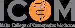 Idaho College of Osteopathic Medicine Logo.