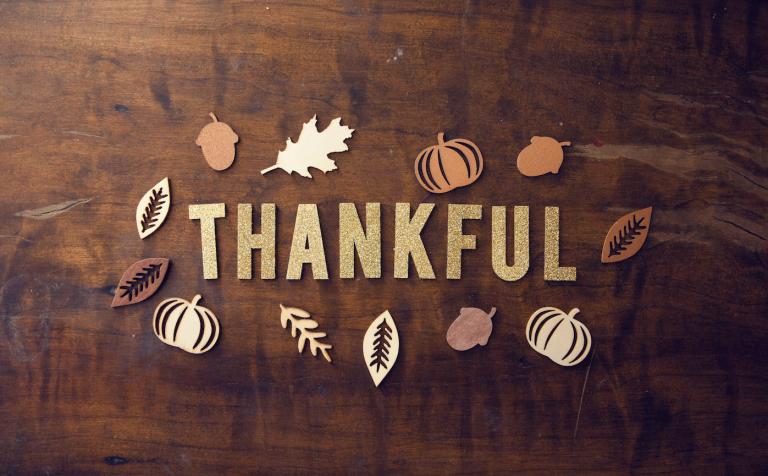 Thankful autumn theme