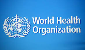 The World Health Organization logo.