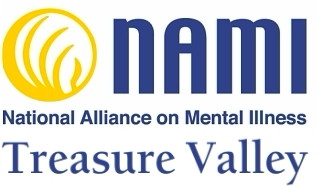 NAMI Treasure Valley logo.
