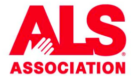 ALS Association logo.