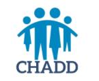 CHADD logo.