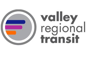 Valley Regional Transit logo.