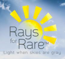 Rays for Rare logo.
