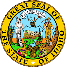 Great Seal of The State of Idaho.