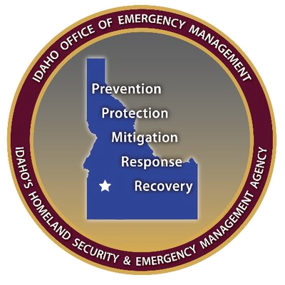 Idaho Office of Emergency logo.