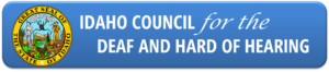 Idaho Council for the Deaf and Hard of Hearing Logo
