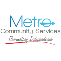 Metro Community Services logo.