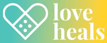 Love heals logo.