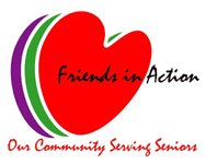Friends in Action logo.