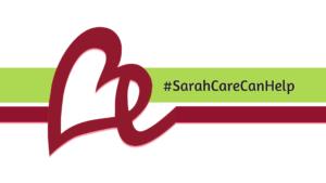 Sarah Care logo.