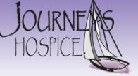 Journey's Hospice logo.