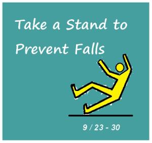 September is Falls Prevention Month!