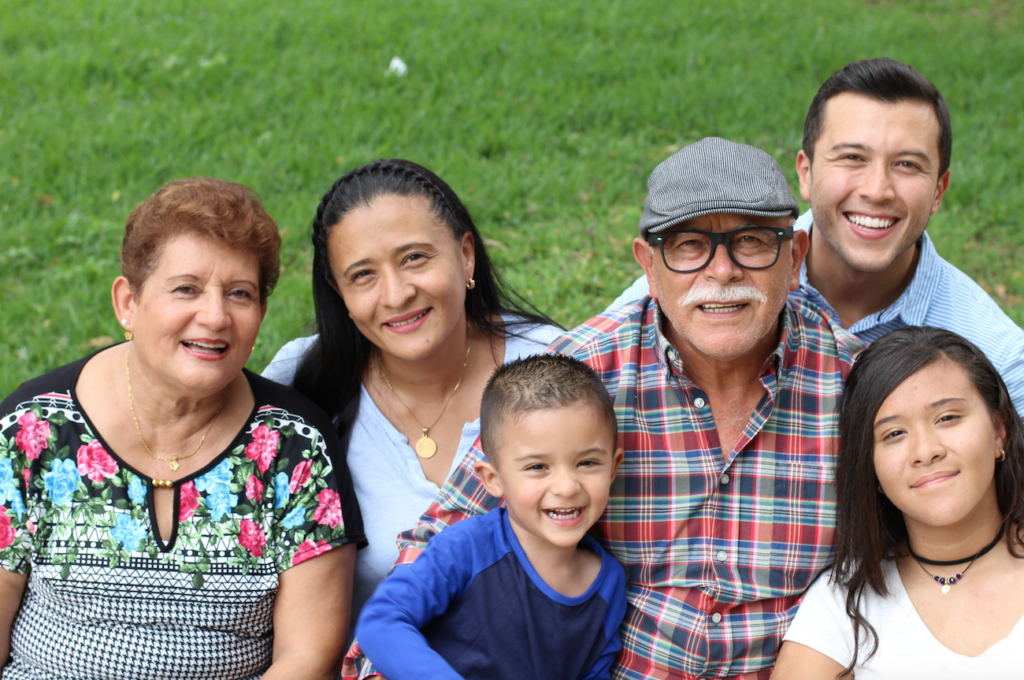 Hispanic all ages family