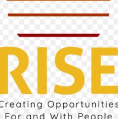 RISE logo.