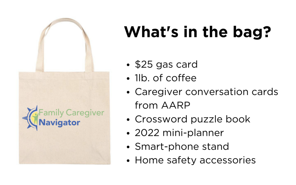 Caring for Caregivers Kits